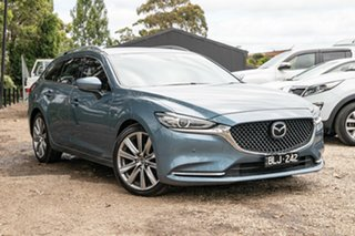 2018 Mazda 6 GL1032 GT SKYACTIV-Drive Blue 6 Speed Sports Automatic Wagon.