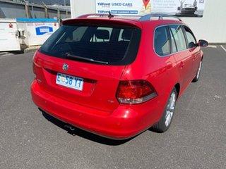 2009 Volkswagen Golf VI MY10 90TSI DSG Trendline Red 7 Speed Sports Automatic Dual Clutch Wagon