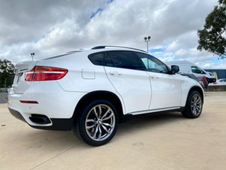 2012 BMW X6 M50D White Sports Automatic Wagon.