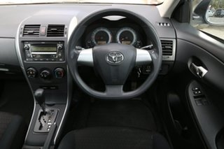 2010 Toyota Corolla ZRE152R Ascent Silver 4 Speed Automatic Sedan
