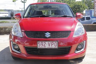 2015 Suzuki Swift FZ MY15 GL Red 4 Speed Automatic Hatchback