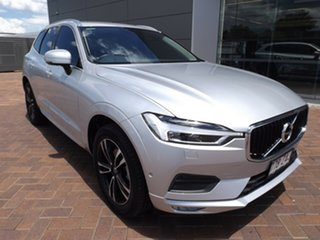 2019 Volvo XC60 UZ MY19 T5 AWD Momentum Silver 8 Speed Sports Automatic Wagon.