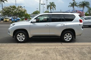 2012 Toyota Landcruiser Prado KDJ150R 11 Upgrade GXL (4x4) Silver 5 Speed Sequential Auto Wagon