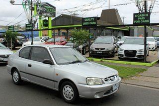 2002 Hyundai Accent LC GS Silver 4 Speed Automatic Hatchback