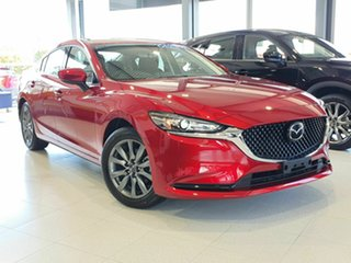 2020 Mazda 6 Sport Red 6 Speed Automatic Sedan.