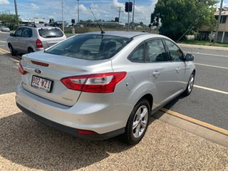 2013 Ford Focus Trend Silver 5 Speed Automatic Sedan