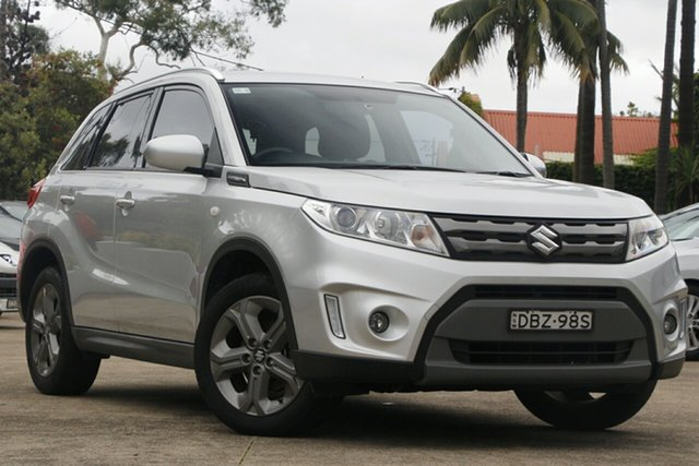 Pre-Owned Suzuki Vitara LY RT-S Mosman, 2015 Suzuki Vitara LY RT-S Silver 6 Speed Automatic Wagon