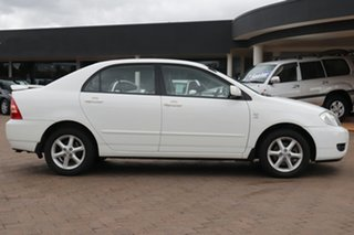 2007 Toyota Corolla ZZE122R 5Y Ascent Super White 4 Speed Automatic Sedan