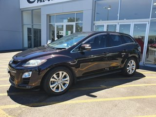 2010 Mazda CX-7 ER10A2 Sports Purple 6 Speed Manual Wagon.