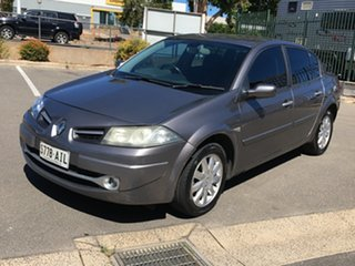 2009 Renault Megane II L84 Phase II Exception dCi Grey 4 Speed Sports Automatic Sedan