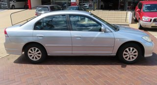 2004 Honda Civic GLi Silver Automatic Sedan.