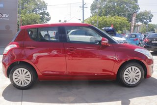 2015 Suzuki Swift FZ MY15 GL Red 4 Speed Automatic Hatchback.