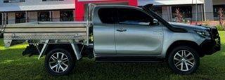 2015 Toyota Hilux GUN126R SR5 Extra Cab Grey 6 Speed Manual Utility.