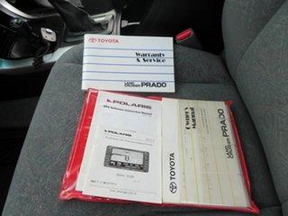 2005 Toyota Landcruiser Prado GRJ120R VX (4x4) Silver 5 Speed Automatic Wagon