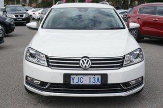 2012 Volkswagen Passat Type 3C MY12.5 125TDI DSG Highline White 6 Speed Sports Automatic Dual Clutch.