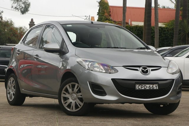 Pre-Owned Mazda 2 DE MY13 Neo Mosman, 2013 Mazda 2 DE MY13 Neo Grey 4 Speed Automatic Hatchback