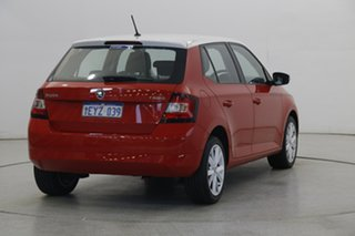 2016 Skoda Fabia NJ MY16 66TSI Red 5 Speed Manual Hatchback