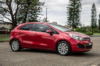 2014 Kia Rio UB MY14 SI Red 6 Speed Sports Automatic Hatchback.