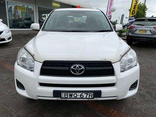 2011 Toyota RAV4 CV White Automatic Wagon.