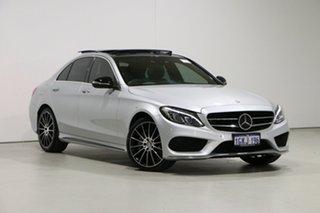 2014 Mercedes-Benz C250 205 Silver 7 Speed Automatic Sedan.