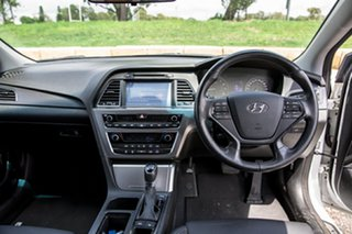 2014 Hyundai Sonata LF Elite Ice White 6 Speed Sports Automatic Sedan