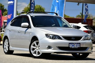 2008 Subaru Impreza G3 MY08 RS AWD Spark Silver 5 Speed Manual Hatchback.