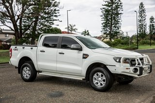 2015 Ford Ranger PX MkII XLS Double Cab Cool White 6 Speed Sports Automatic Utility.