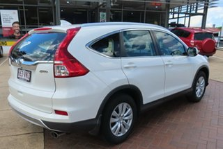 2015 Honda CR-V VTi White Automatic Wagon.