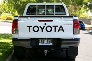 2016 Toyota Hilux GUN136R SR Double Cab 4x2 Hi-Rider White 6 Speed Sports Automatic Utility