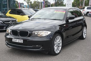 2011 BMW 1 Series E87 MY11 123d Steptronic Black 6 Speed Sports Automatic Hatchback