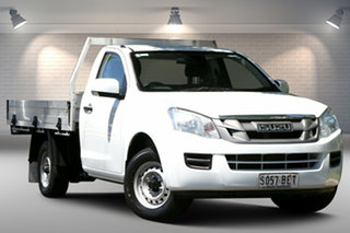 2015 Isuzu D-MAX MY15 SX 4x2 White 5 Speed Manual Cab Chassis.