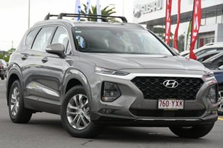 2018 Hyundai Santa Fe TM MY19 Active Wild Explorer Grey 8 Speed Sports Automatic Wagon.