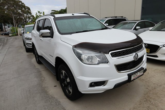 Used Holden Colorado 7 RG MY16 Trailblazer Castle Hill, 2016 Holden Colorado 7 RG MY16 Trailblazer White 6 Speed Sports Automatic Wagon