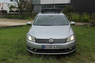 2011 Volkswagen Passat Type 3C MY12 V6 FSI DSG 4MOTION Highline Silver 6 Speed.