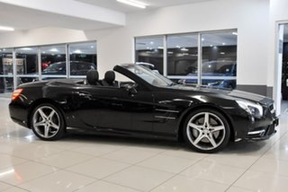 2015 Mercedes-Benz SL-Class R231 805MY SL500 7G-Tronic + Black 7 Speed Sports Automatic Roadster.