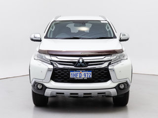 2017 Mitsubishi Pajero Sport MY16 Exceed (4x4) 7 Seat White 8 Speed Automatic Wagon.