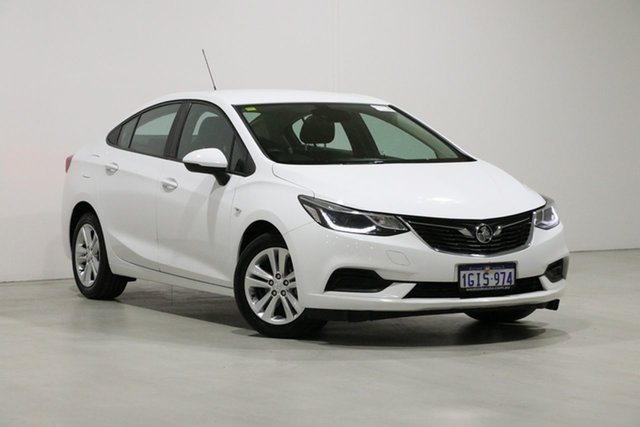 Used Holden Astra BL MY17 LS Plus Bentley, 2017 Holden Astra BL MY17 LS Plus White 6 Speed Automatic Sedan