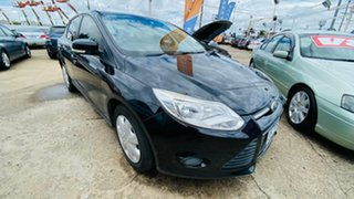 2012 Ford Focus LW MkII Trend PwrShift Black 6 Speed Sports Automatic Dual Clutch Sedan.