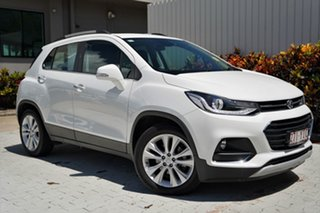 2018 Holden Trax TJ MY18 LTZ White 6 Speed Automatic Wagon.