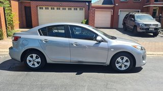 2013 Mazda 3 BL Series 2 MY13 Neo Silver 5 Speed Automatic Sedan.