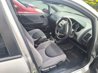 2006 Honda Jazz GD MY06 GLi Alabaster Silver 5 Speed Manual Hatchback