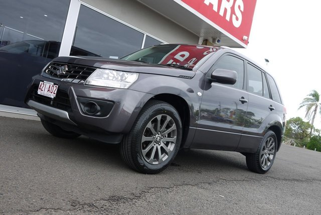 Used Suzuki Grand Vitara JB Navigator 2WD Bundaberg, 2016 Suzuki Grand Vitara JB Navigator 2WD Grey 4 Speed Automatic Wagon