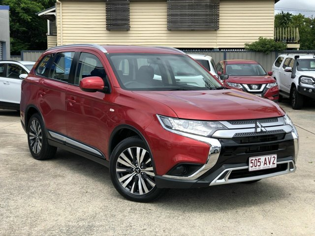 Used Mitsubishi Outlander ZL MY19 ES AWD Chermside, 2019 Mitsubishi Outlander ZL MY19 ES AWD Maroon 6 Speed Constant Variable Wagon