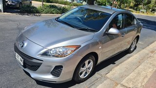2013 Mazda 3 BL Series 2 MY13 Neo Silver 5 Speed Automatic Sedan
