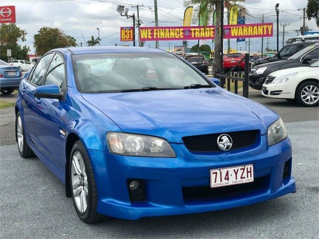 Used Holden Commodore VE SV6 Archerfield, 2008 Holden Commodore VE SV6 Blue 6 Speed Manual Sedan