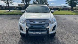 2017 Isuzu D-MAX MY17 SX Crew Cab Silver 6 Speed Sports Automatic Utility.