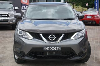 2016 Nissan Qashqai J11 ST Grey 1 Speed Constant Variable Wagon.