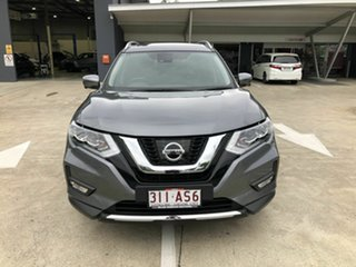 2018 Nissan X-Trail T32 Series II Ti X-tronic 4WD Grey 7 Speed Constant Variable Wagon.