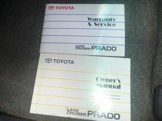 2007 Toyota Landcruiser Prado KDJ120R GXL Grey 5 Speed Automatic Wagon.
