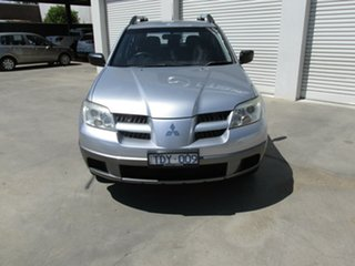 2004 Mitsubishi Outlander ZE LS Silver 4 Speed Sports Automatic Wagon.